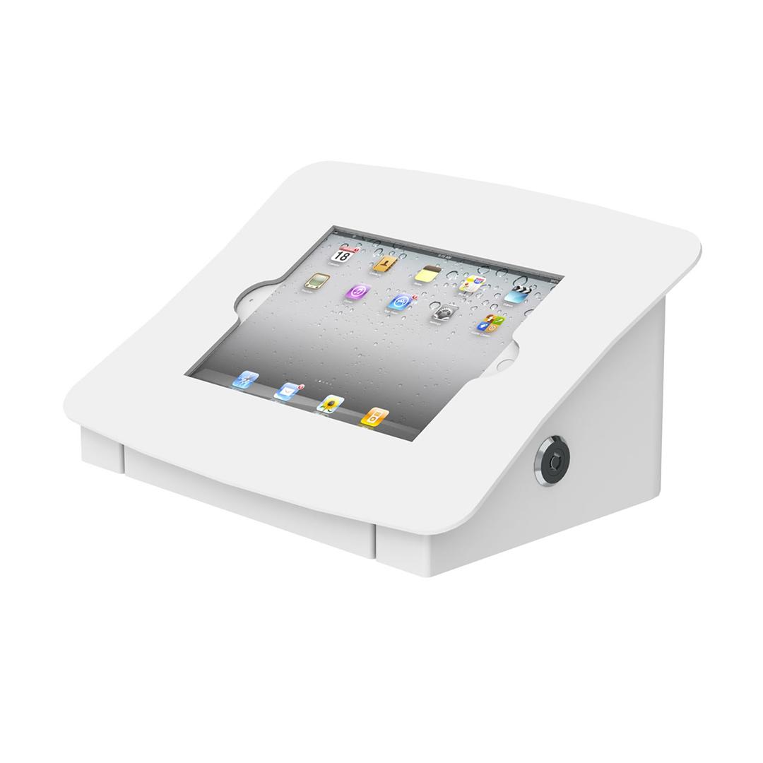 Desk Mounted Tablet Housing