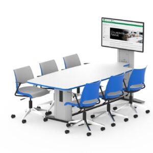 Synergy Quad Collaborative Table