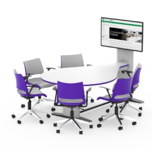 Synergy Teardrop Collaborative Table
