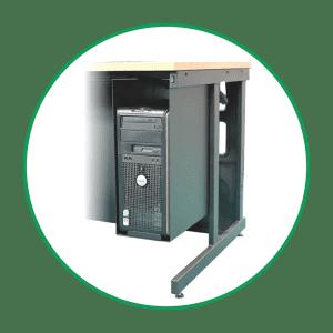 Adjustable Computer Cradle