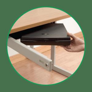 Laptop Desk Locker