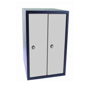 2 Bay Laptop Storage Locker