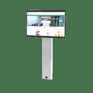 Floor Mounted Screen Mast