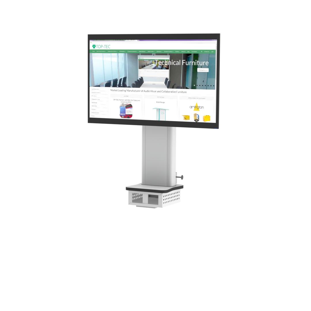 Wall Mounted Screen Mast