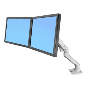 ENDO 72-2 Dual Direct Desk Mounted Monitor Arm
