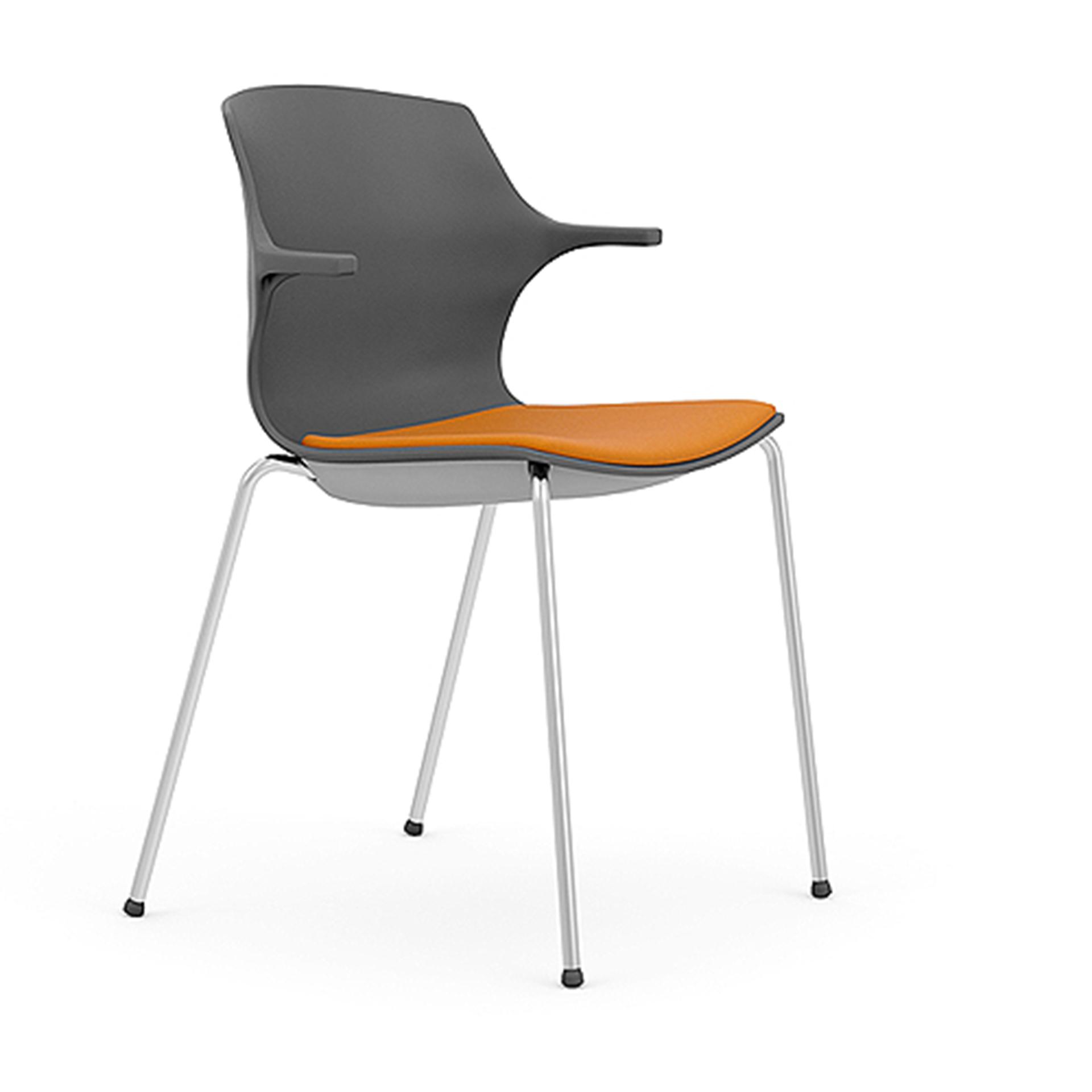 Four Legged Chair with arms
