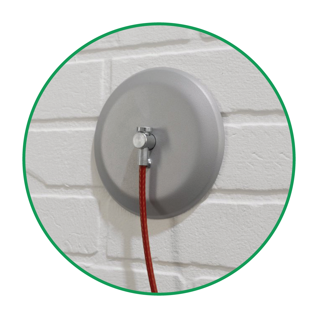 Wall Fixed Cable Tether Kit