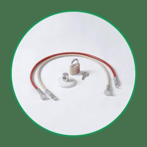 Vipa Cable and Anchor Pad Kit