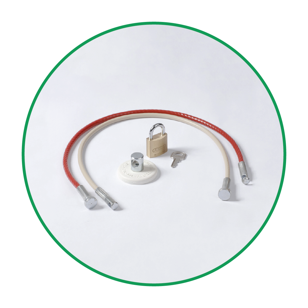 VIPA Security Cable Kit